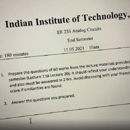 IIT Goa Asks Students to Prepare Own Questions, Answer Them for Final Exams