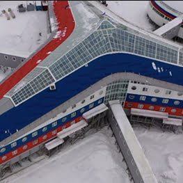Inside Russia's Trefoil military base in the Arctic