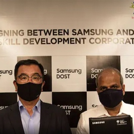 NSDC, Samsung India to Train 50,000 Youth in Electronic Retails